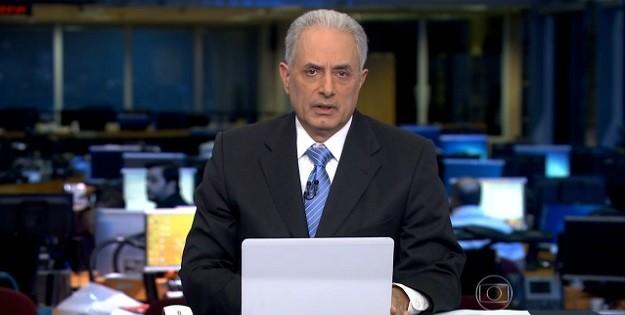 Globo afasta apresentador William Waack após comentário racista