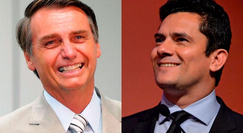 Moro se reúne com Bolsonaro nesta quinta para discutir ministério