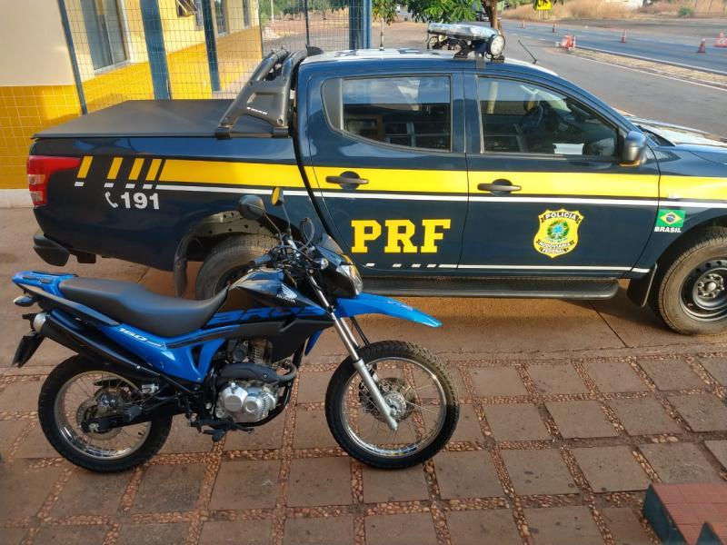 PRF apreende motocicleta adulterada no Piauí