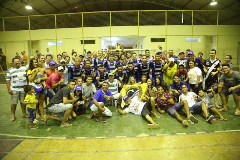 Time de Altos Cobra D'água é campeão piauiense de futsal