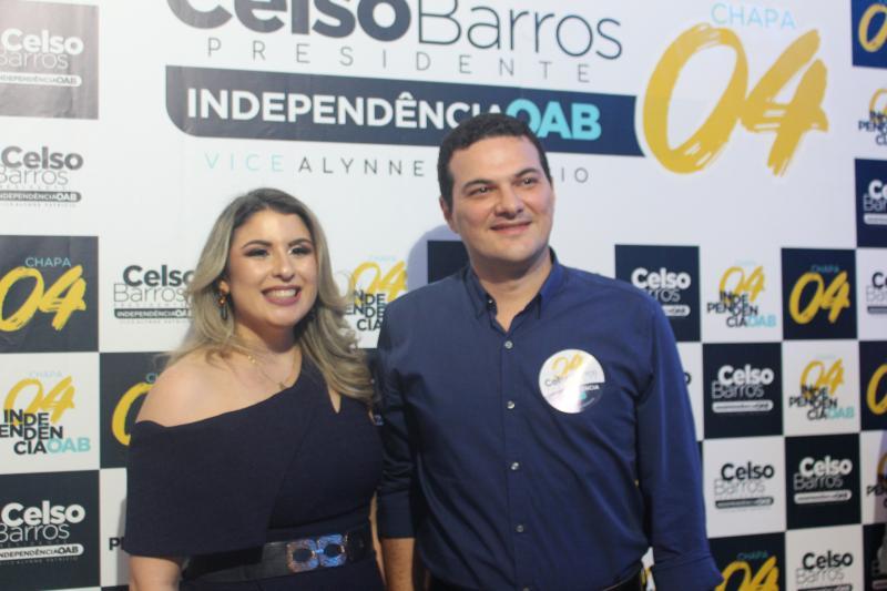 Conselheiro federal Celso Barros Neto apresenta sua chapa na Mansão Bliss
