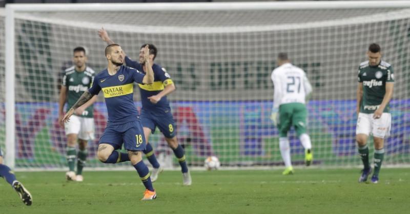 Boca frustra Palmeiras de novo e fará final da Libertadores com River