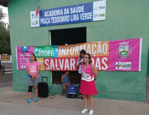 Secretária de Saúde fala em sucesso da campanha 'Outubro Rosa'