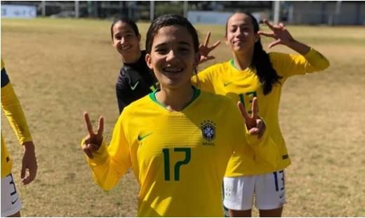 Atacante do Tiradentes-PI está na lista de convocadas para a Copa do Mundo