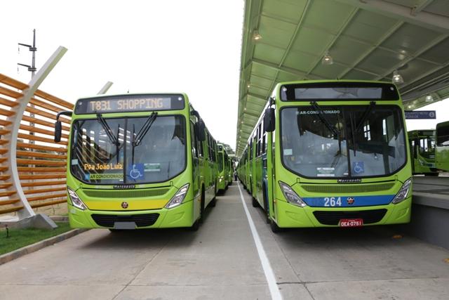 Strans garante frota de ônibus para dias de prova do Enem