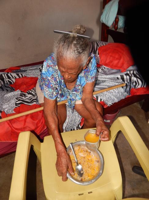 Conheça dona Maria uma das mulheres mais velhas do Piauí