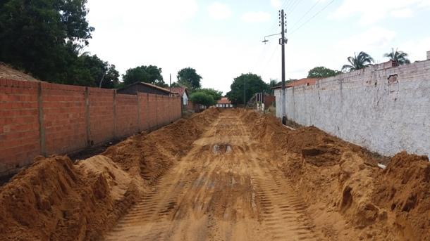 PMA inicia a obra de construção do calçamento da rua João de Sousa Barros