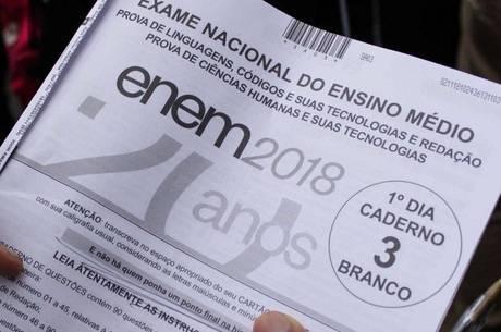 Confira o gabarito extraoficial do primeiro dia de Enem 2018