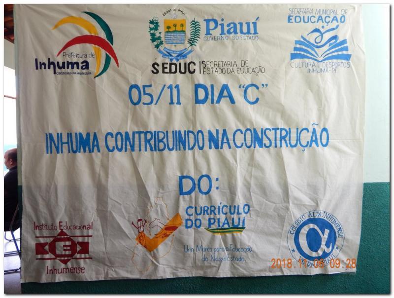 """Município de Inhuma participa do dia """"C"""""""
