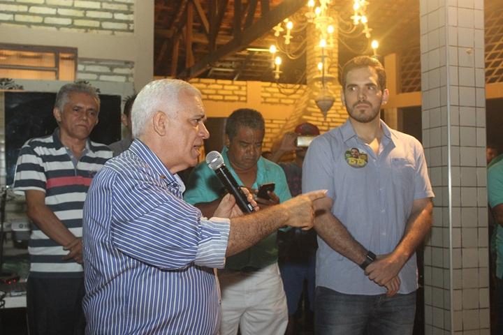 The. Filho e Marcos Aurélio vão realizar Festa da Vitória em Esperantina