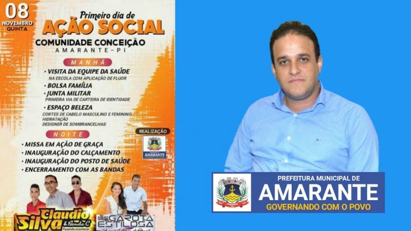 Prefeitura convida população para inaugurações e shows; confira!