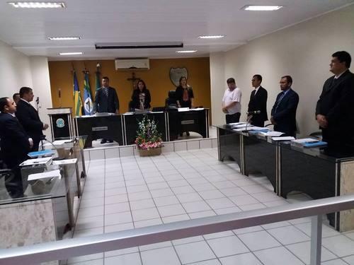 34º Sessão Câmara Municipal de Guadalupe