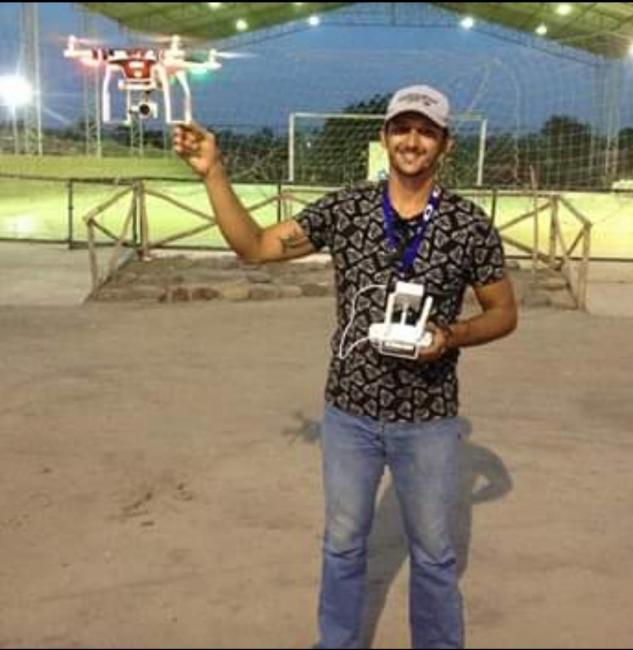 Droneiro é vítima de assalto em São João do Arraial
