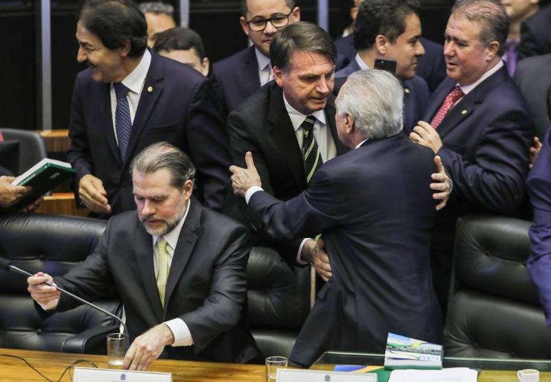 Bolsonaro e Temer iniciam formalmente nesta quarta governo de transição
