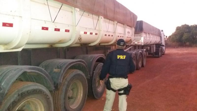 PRF intensifica fiscalização a veículos de carga no estado do Piauí
