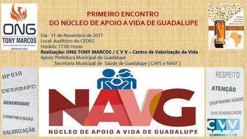 ONG Tony Marcos traz para Guadalupe a CVV e cria a NAVG