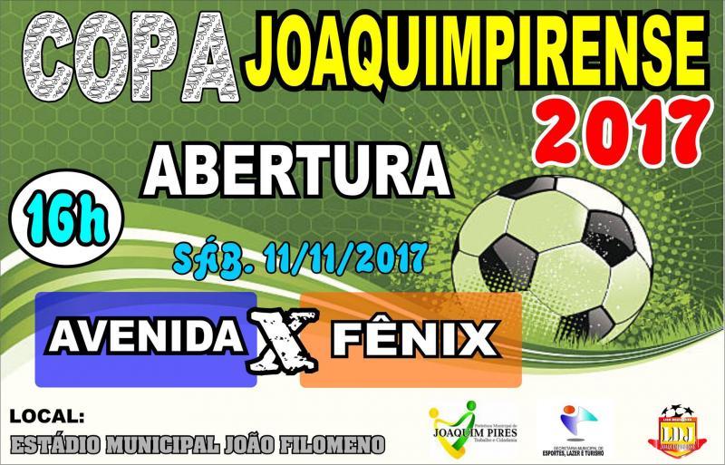 Abertura da Copa Joaquimpirense de Futebol 2017