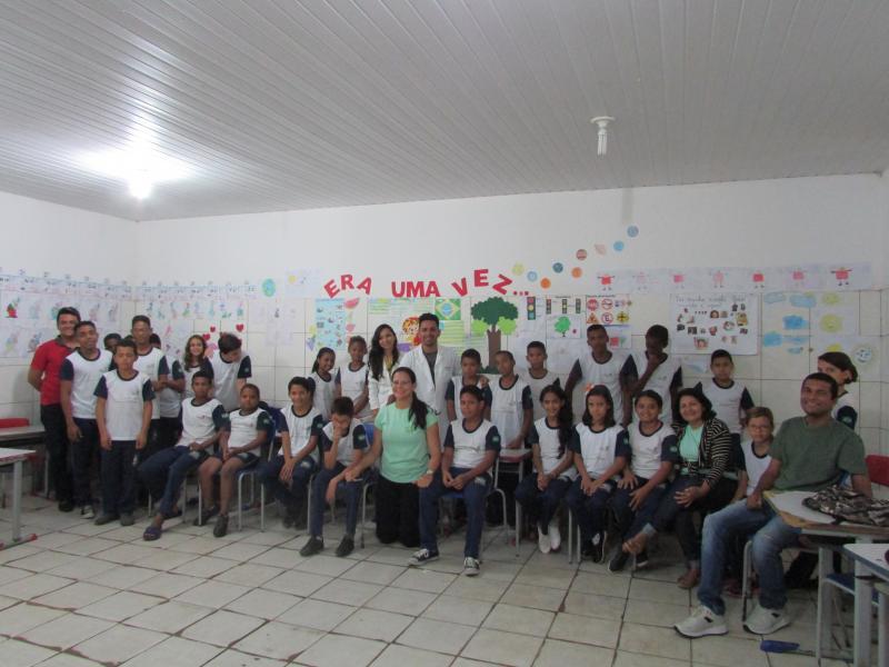 Equipe da Atenção Básica e NASF realiza palestras educativas em escolas