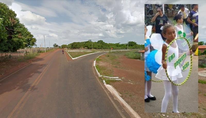 Criança é atropelada na estrada da Cachoeira do Urubu em Esperantina