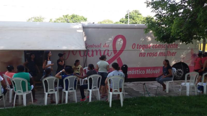 São Gonçalo do Piaui realiza campanha Outubro Rosa e Novembro Azul