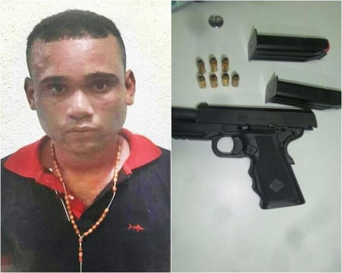 Assaltante é recapturado quando fugia em caminhão baú no Piauí