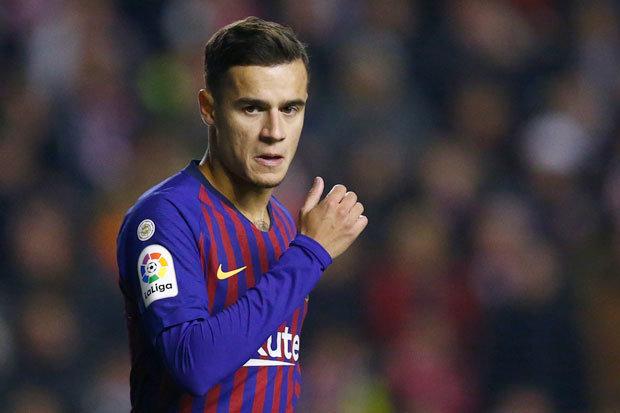 Philippe Coutinho ficará até três semanas fora do Barça