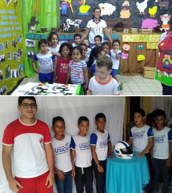 Participação dos alunos do municipios no IV FLIMEJE