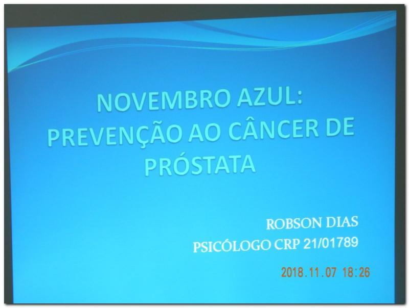 Evento Outubro Rosa Novembro Azul