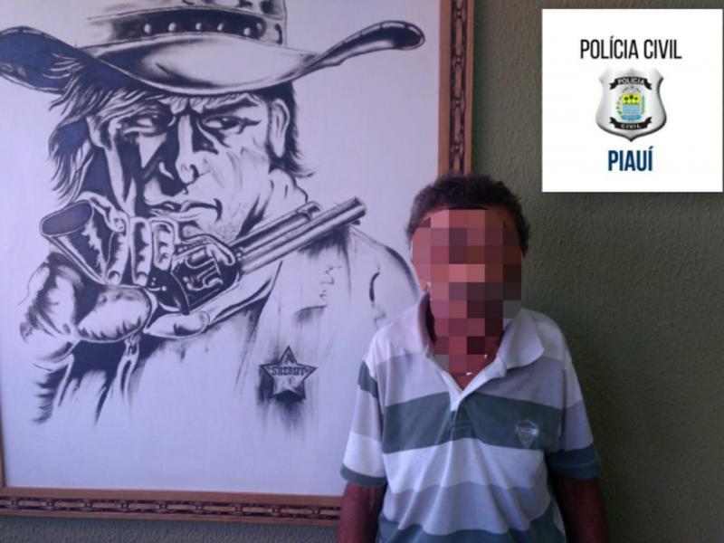 Polícia civil prende estuprador no interior do município de Piripiri