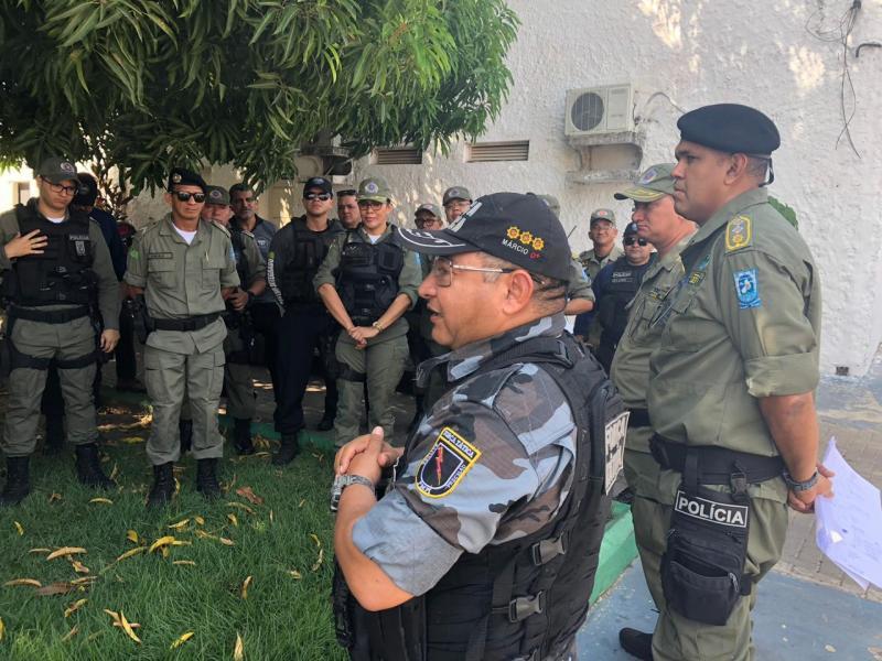 """Segurança dá continuidade a """"Operação Enem 2018"""" em todo Piauí"""