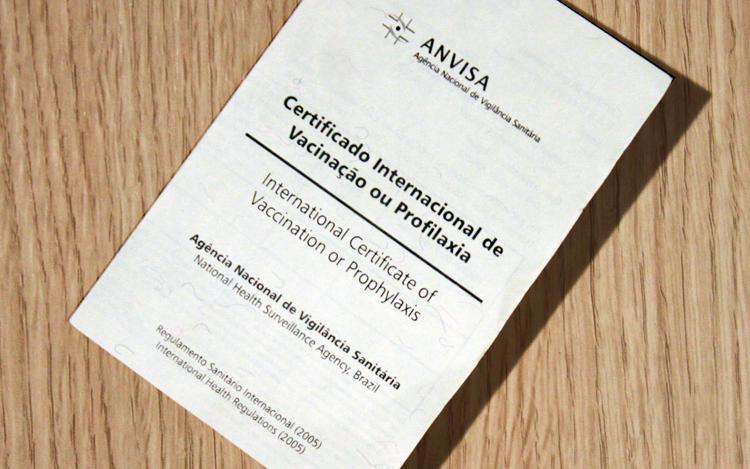 Anvisa lança ferramenta para acelerar emissão do certificado de vacinação