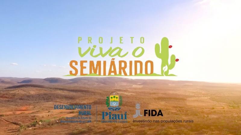 Projeto 'Viva o Semiárido' será realizado em Valença do Piauí