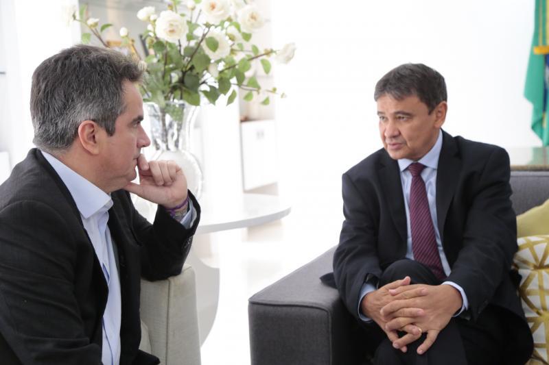 Wellington trata de pautas federativas com Ciro Nogueira