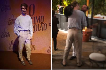 Ator da Globo é flagrado aos beijos com outro homem em festa
