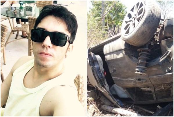 Dentista sofre grave acidente de carro na PI-113