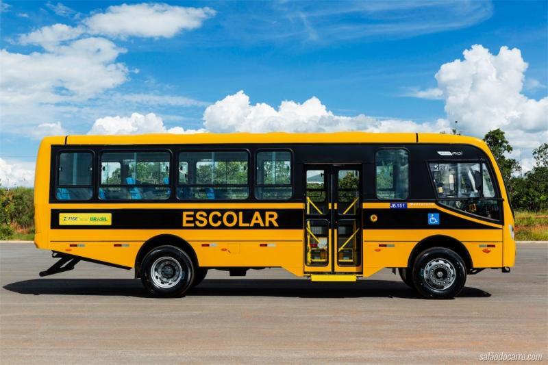 Ônibus disponíveis para alunos de Monte Alegre - ENEM 2018