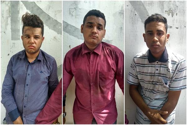 Trio é preso tentando furtar motos de candidatos do Enem