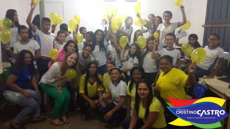 Secretarias municipais e Conselho Tutelar se reúnem em prol do Setembro Amarelo