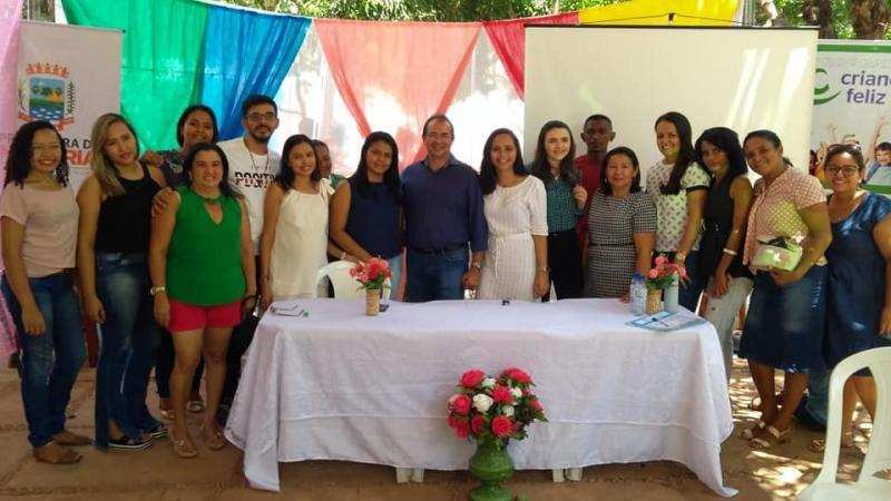 Prefeitura de Nazária realiza dia de lazer para crianças