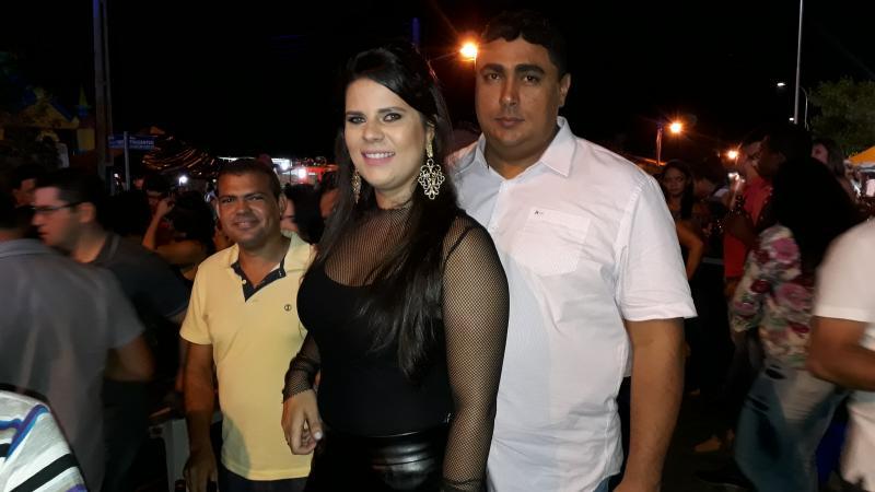 Prefeita de Jerumenha participou de grande festa em Landri Sales