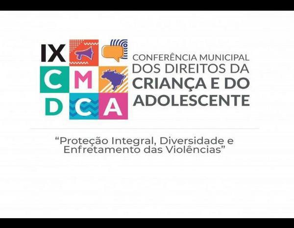 Participe da IX Conferência dos Direitos da Criança e do Adolescente