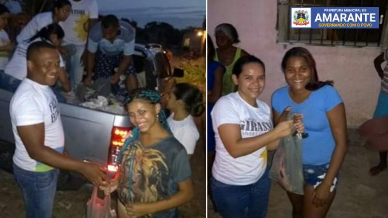 Prefeitura Municipal de Amarante realizando entregas de peixes; veja