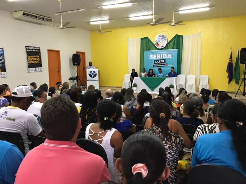Amarante realiza seminário de combate à venda de bebidas a menores