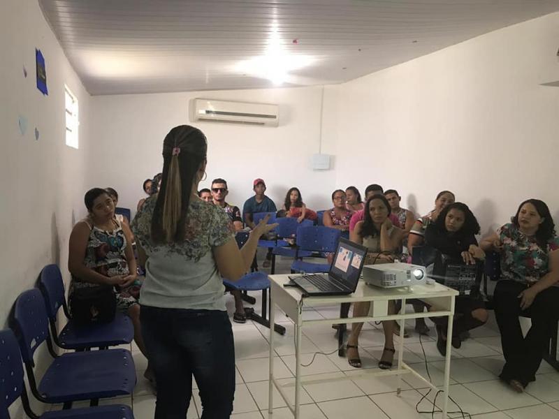 Prefeitura realizou encontro de gestantes e companheiros em Lagoa do Piauí