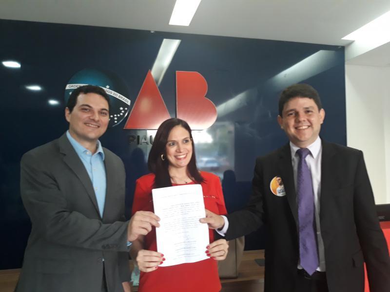 Candidatos protocolam requerimento de pedido de debate para eleições OAB-PI