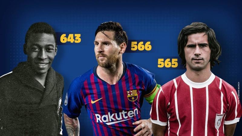 Barcelona põe Messi