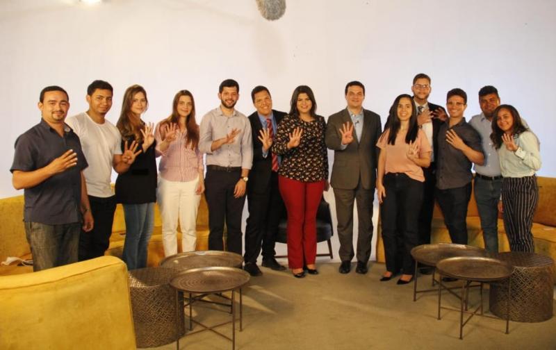 Celso Barros Neto cumpre agenda de encontros com jovem advocacia