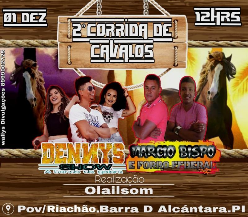 2• Grande corrida de cavalos em Riachão no município de Barra D'Alcântara
