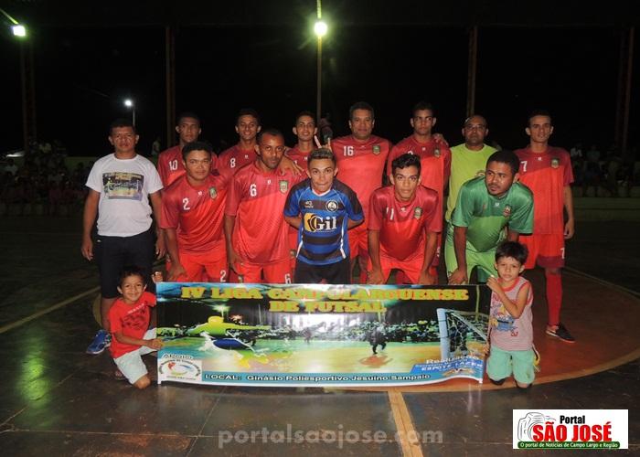 Abertura da IV Liga Campolarguense de Futsal 2017 de Campo Largo do Piauí-PI