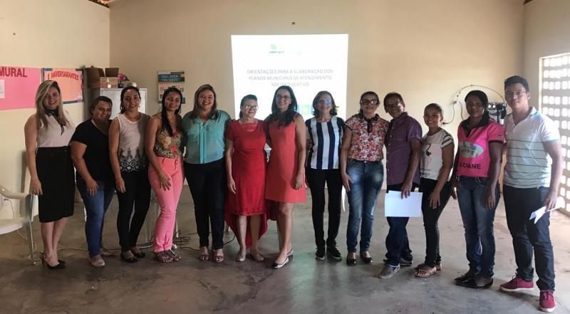 Secretaria de Assistência Social realiza reunião para elaboração do PMAS
